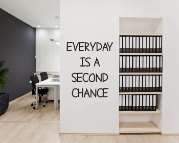Everyday Quotes Wall Decal Motivational Vinyl Art Stickers